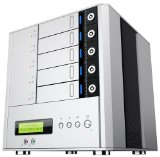 ineo Juggernaut I-NA559N Pro 5 Bay Network Attached Storage + FTP server, SMB server, DFS server, HTTP server, iSCSI feature (Up to 15TB)